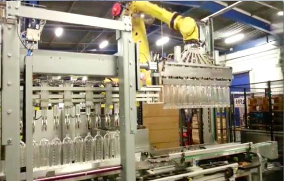 Depalettizzatore Robotizzato