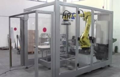 Palettizzatore Robot Compatto